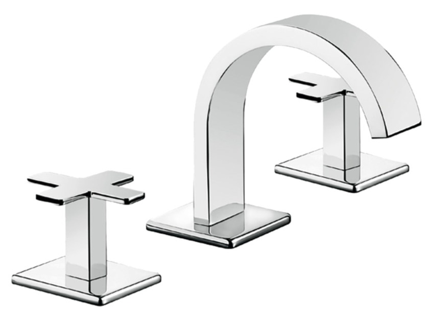 3 hole countertop bidet tap PLAYONE PLUS 37 - 3723515 - Fir Italia