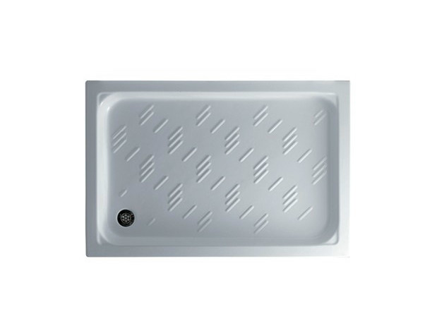Anti-slip rectangular shower tray PLAZA 120 X 70 - GALASSIA