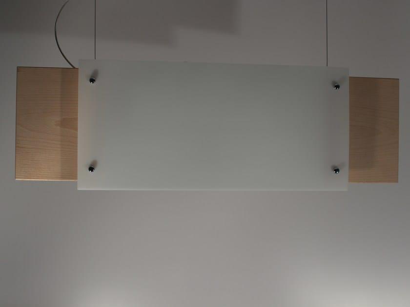 Contemporary style Plexiglas® pendant lamp Plexiglas® pendant lamp by Ipsilon PARALUMI
