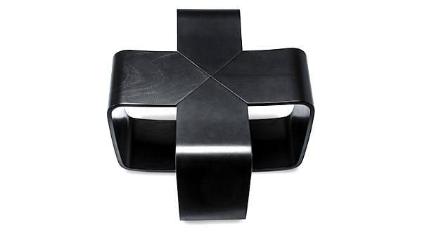 Wood veneer stool PLUS - Danerka