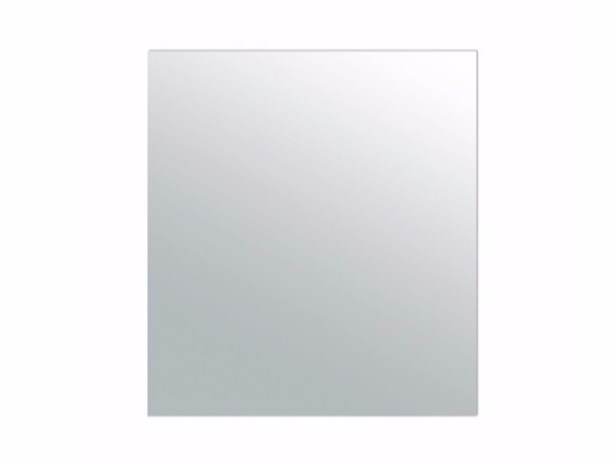 Rectangular wall-mounted bathroom mirror PLUS DESIGN 90 X 100 | Mirror by GALASSIA