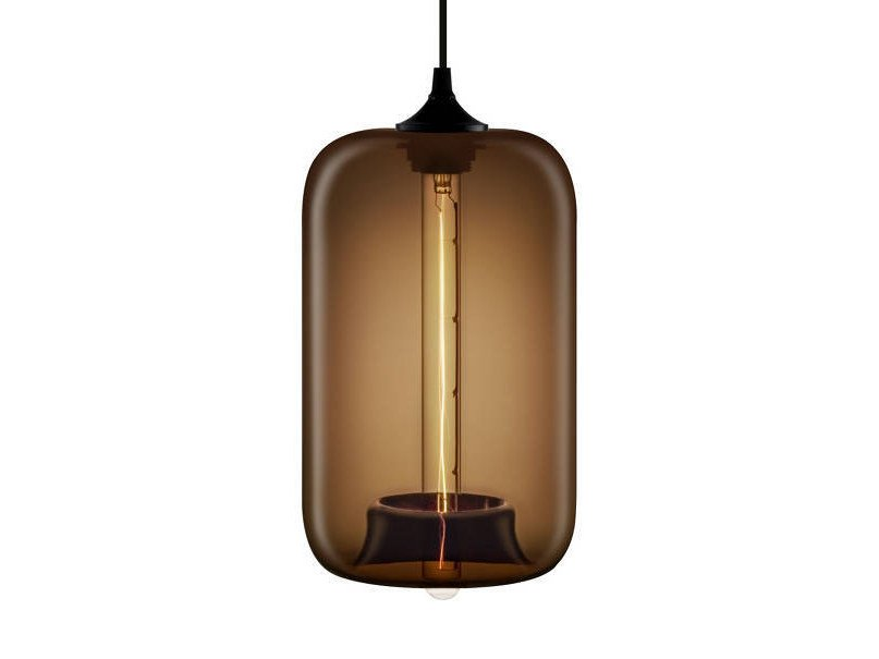 LED handmade blown glass pendant lamp POD | Pendant lamp - Niche Modern
