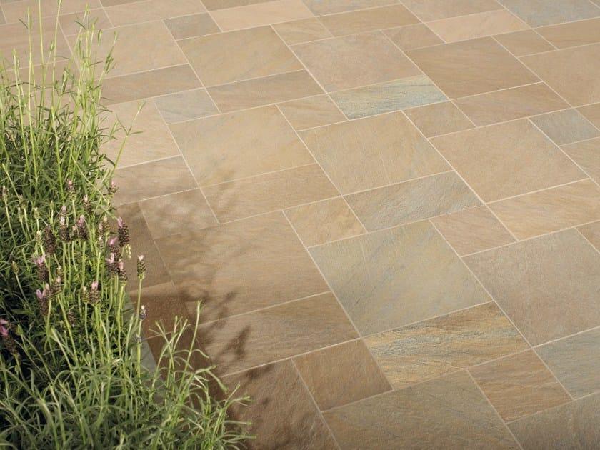 Pavimento per esterni in gres porcellanato effetto pietra for Velux finestre usate