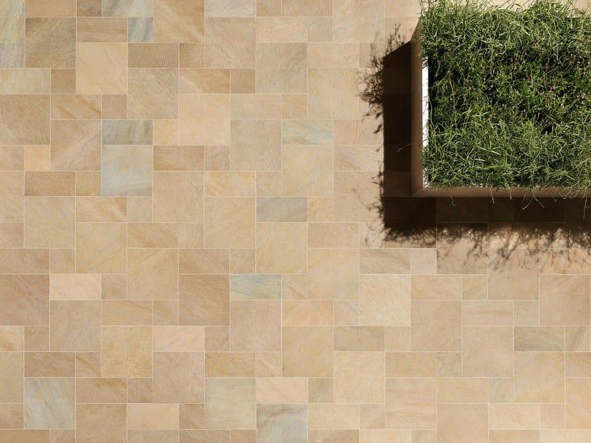 Pavimento per esterni in gres porcellanato effetto pietra for Finestre velux usate