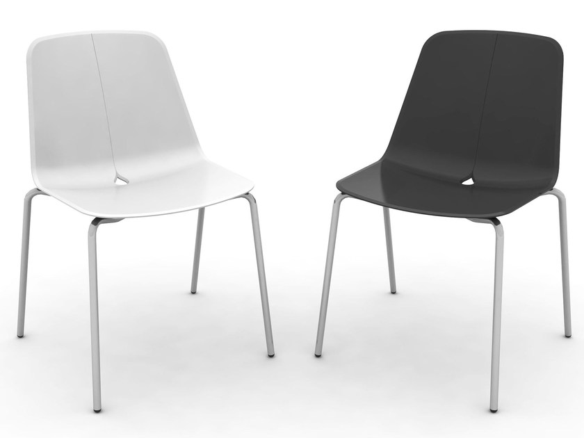 Polypropylene chair DOT-M | Chair - DOMITALIA