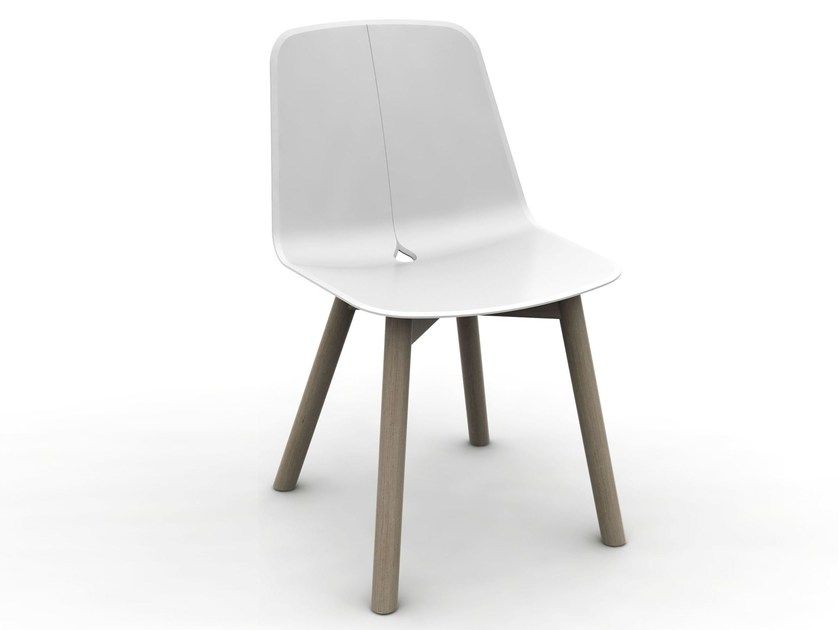 Polypropylene chair DOT-LT | Chair by DOMITALIA