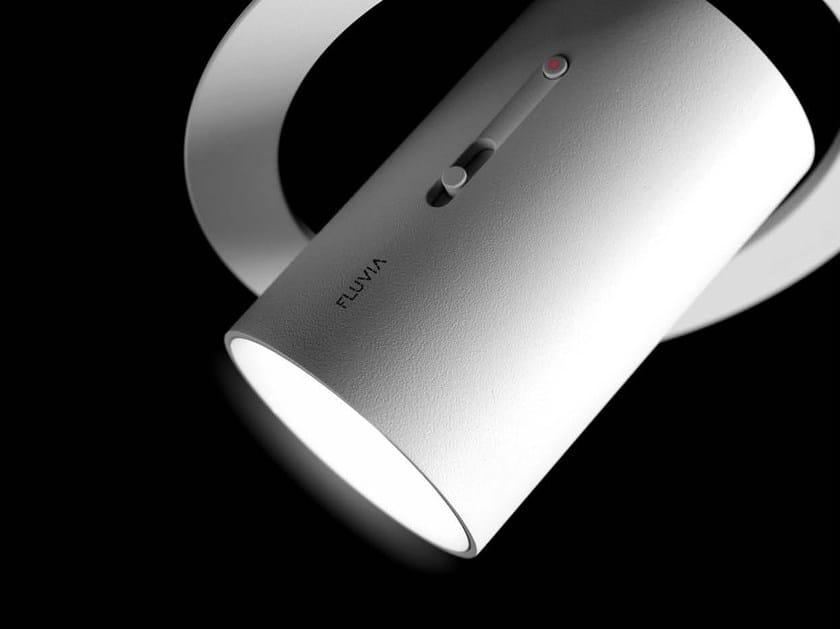 LED semi-inset adjustable spotlight POINT | Spotlight by FLUVIA
