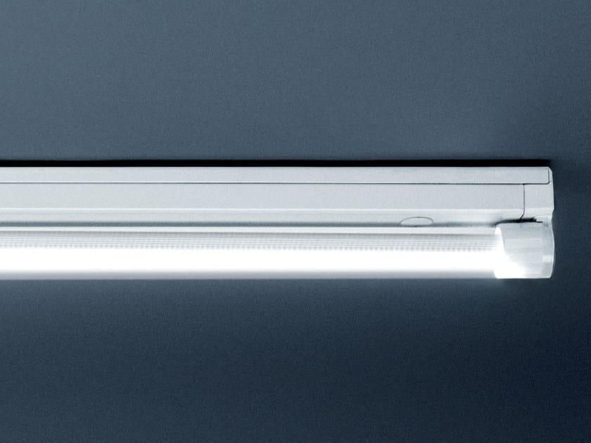 LED polycarbonate industrial ceiling light POKER by PLEXIFORM
