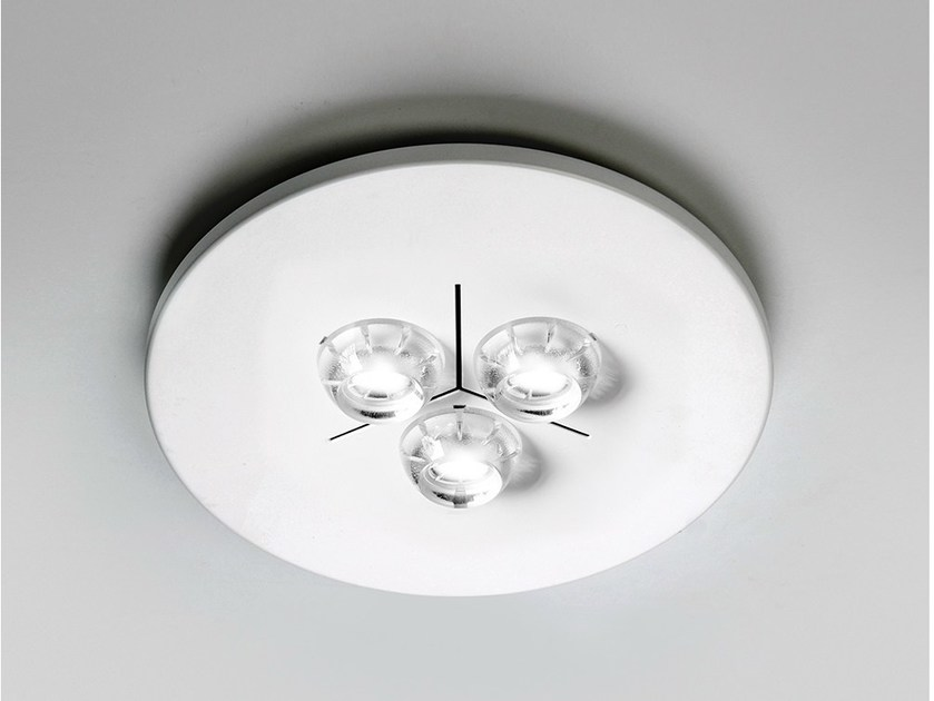LED direct light ceiling light POLIFEMO LED / 6315 by Milan Iluminación
