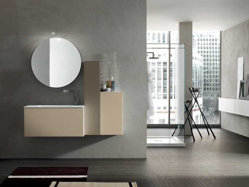 Bathroom cabinet / vanity unit POLLOCK - COMPOSITION 32 - Arcom