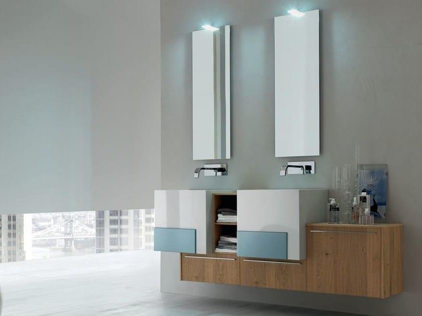 Sistema bagno componibile POLLOCK - COMPOSIZIONE 34 - Arcom