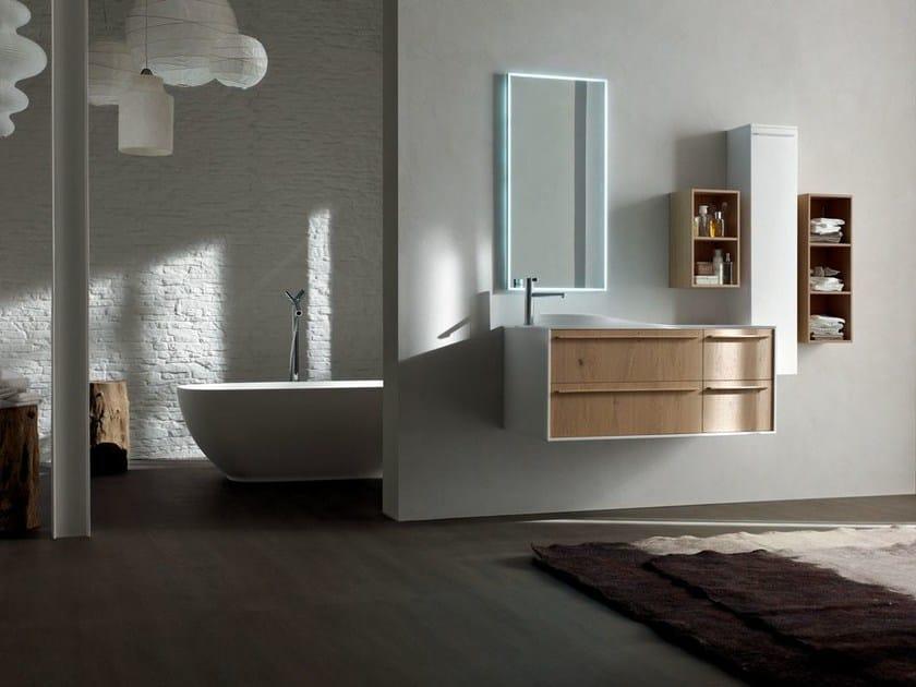 Contemporary style bathroom cabinet / vanity unit POLLOCK - COMPOSITION 36 - Arcom
