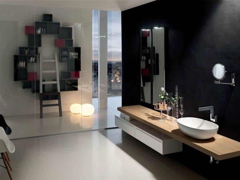 Sistema bagno componibile POLLOCK - COMPOSIZIONE 38 - Arcom