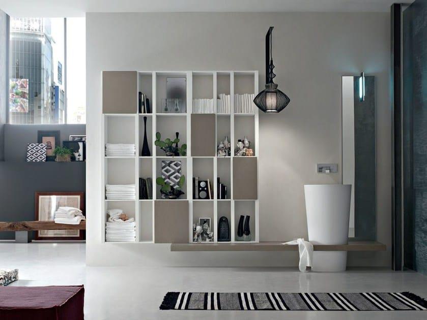 Sistema bagno componibile POLLOCK YAPO - COMPOSIZIONE 49 - Arcom