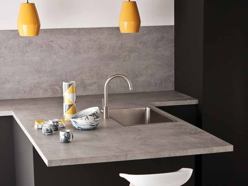 HPL kitchen worktop / furniture foil POLYFORM® EXTRAMAT by Polyrey