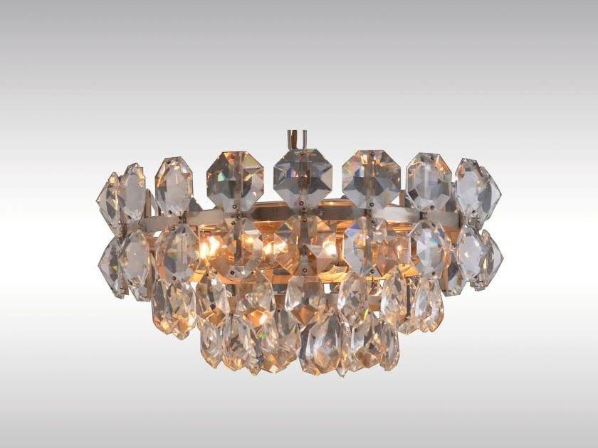 Classic style pendant lamp POMPIDOU by Woka Lamps Vienna