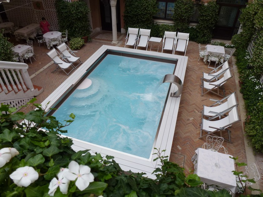 Hydromassage swimming pool 002 HT | Swimming pool - BAIRES