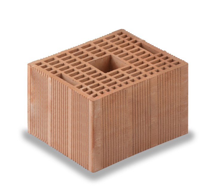 Loadbearing clay block for reinforced masonry Porotherm BIO M.A. Evolution - WIENERBERGER