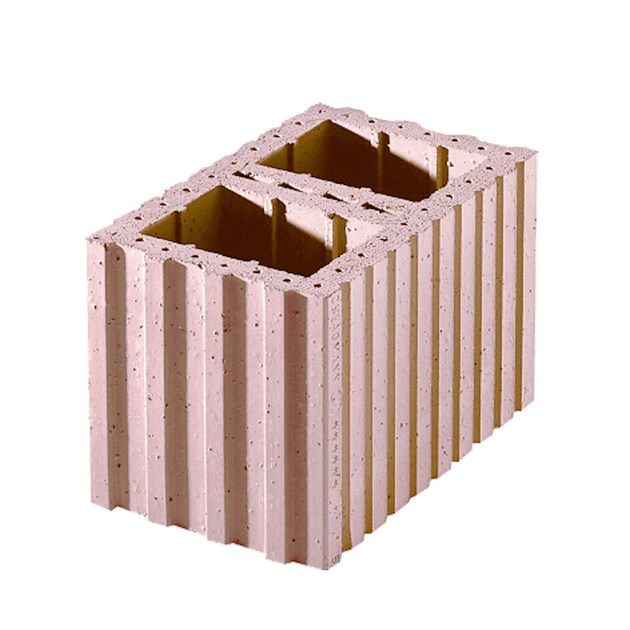 Thermal insulating clay block Porotherm PLAN Cassero - WIENERBERGER