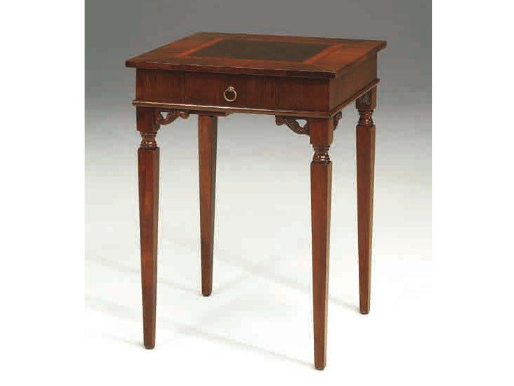 Square solid wood coffee table PORTO - Arvestyle
