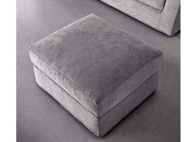 Fabric pouf PLAZA | Pouf - Casamilano