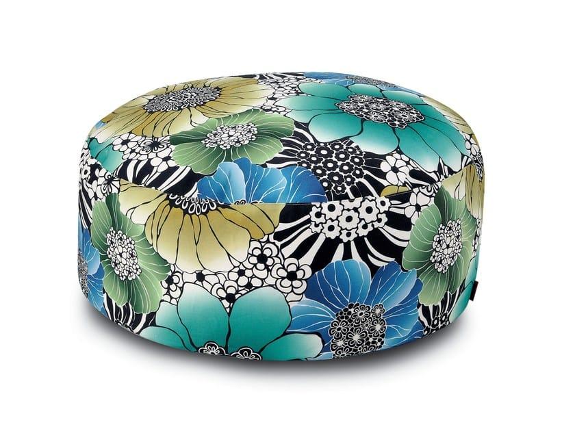 Fabric pouf SORRENTO | Pouf by MissoniHome