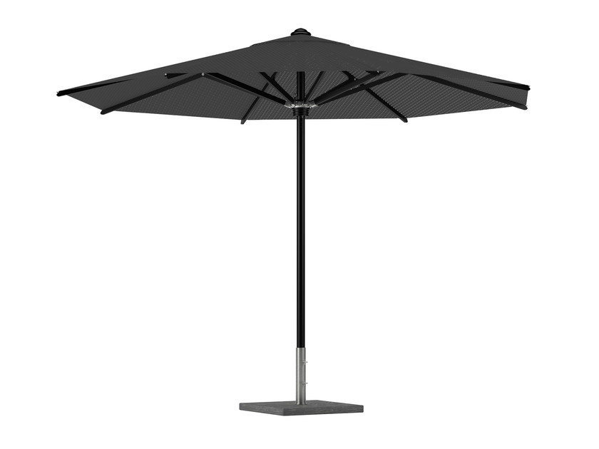 Powder coated aluminium Garden umbrella SHADY | Powder coated aluminium Garden umbrella - ROYAL BOTANIA
