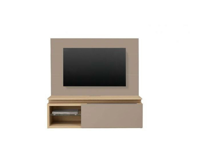Low lacquered TV cabinet with shelves PREFACE | TV cabinet with shelves - GAUTIER FRANCE
