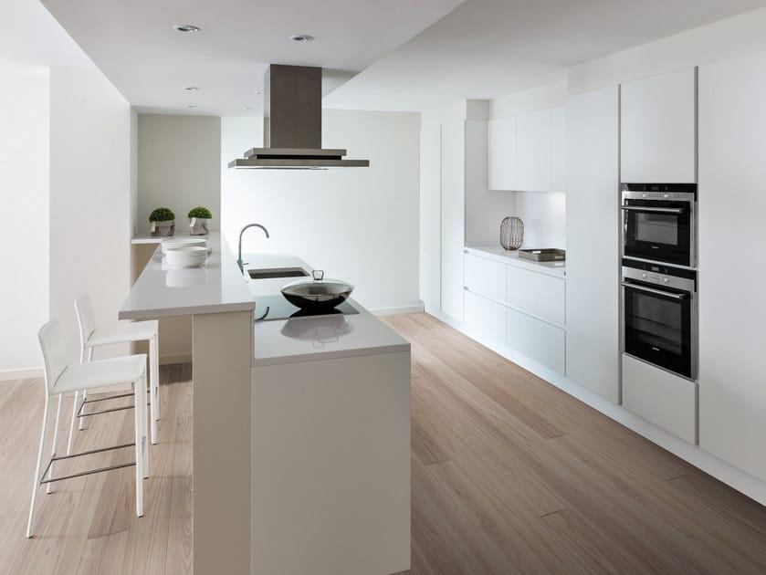 Cucina componibile laccata con isola PRIMA | Cucina con isola ...