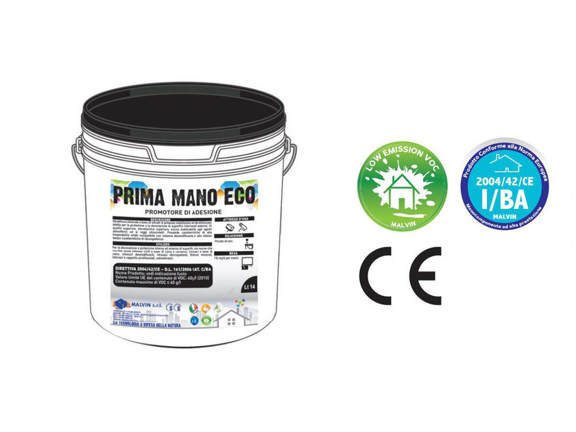 Bituminous and butyl adhesive PRIMA MANO ECO by malvin