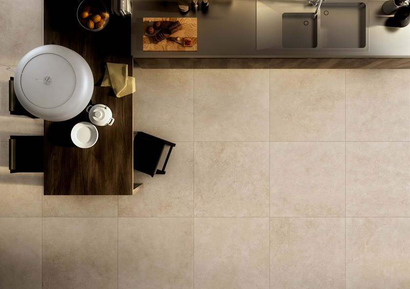 How to tile a floor with porcelain tile