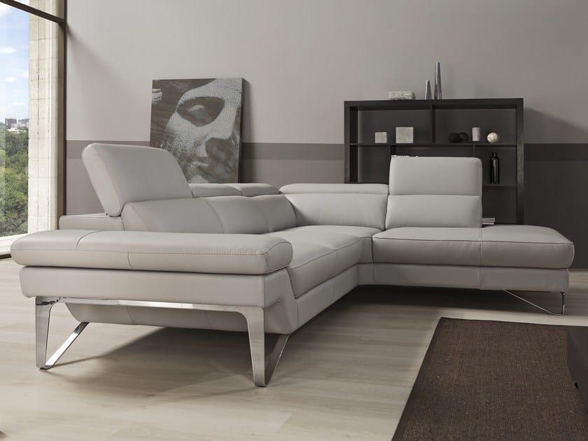 Corner relaxing sofa PRINCESS | Corner sofa - Egoitaliano
