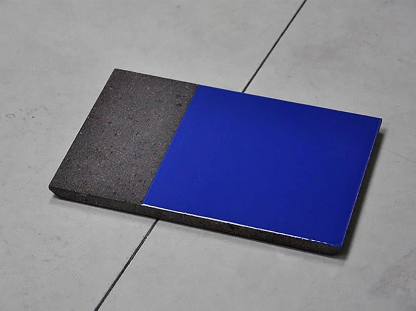 Rectangular lava stone tray PRISME | Tray by Made a Mano