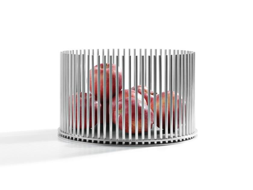 Aluminium fruit bowl PRISONER - Atipico