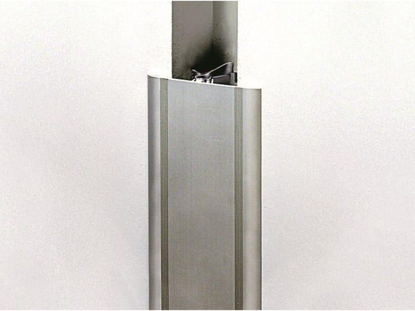 GJA/70 alluminio anodizzato argento
