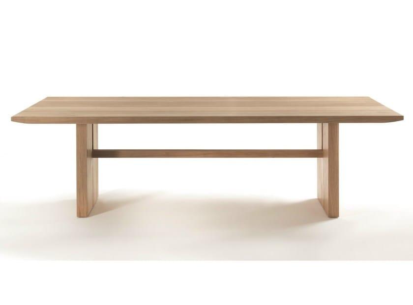 Rectangular wooden table ARABESQUE | Table - Riva 1920