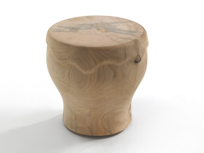 Low wooden stool BIER - Riva 1920