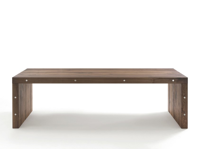 Rectangular solid wood table NERIO - Riva 1920