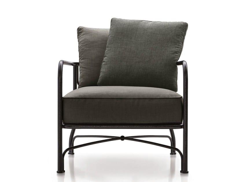 Outdoor armchair LE PARC ARMCHAIR - Minotti