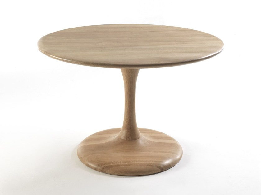 Round wooden table PEO - Riva 1920
