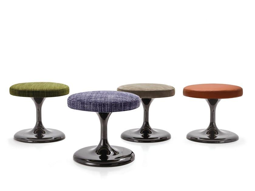 Low felt stool OTTOMAN - NETO - Minotti