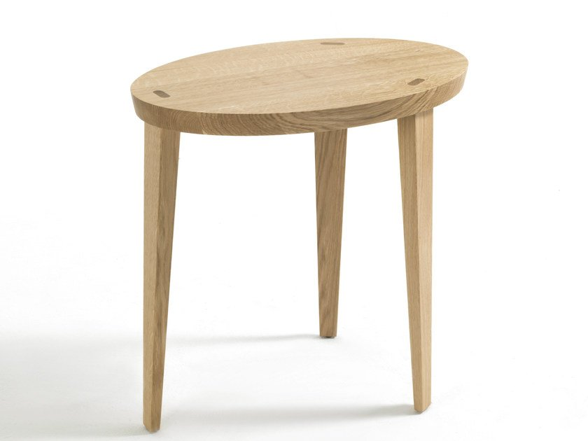 Oval solid wood coffee table TAO - Riva 1920