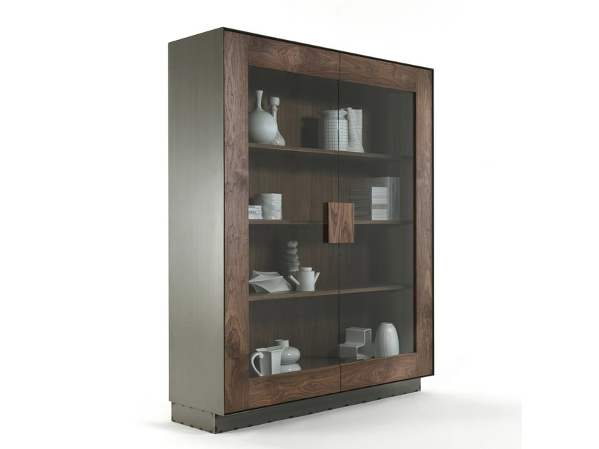 Solid wood display cabinet RIALTO 2013 CABINET by Riva 1920