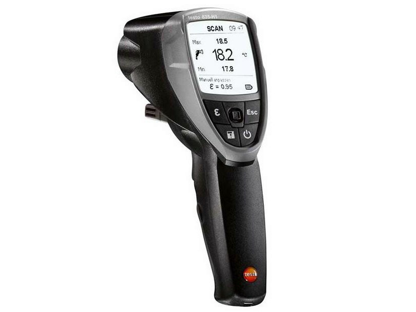 Measurement, control, thermographic and infrared instruments TESTO 835-H1 - TESTO