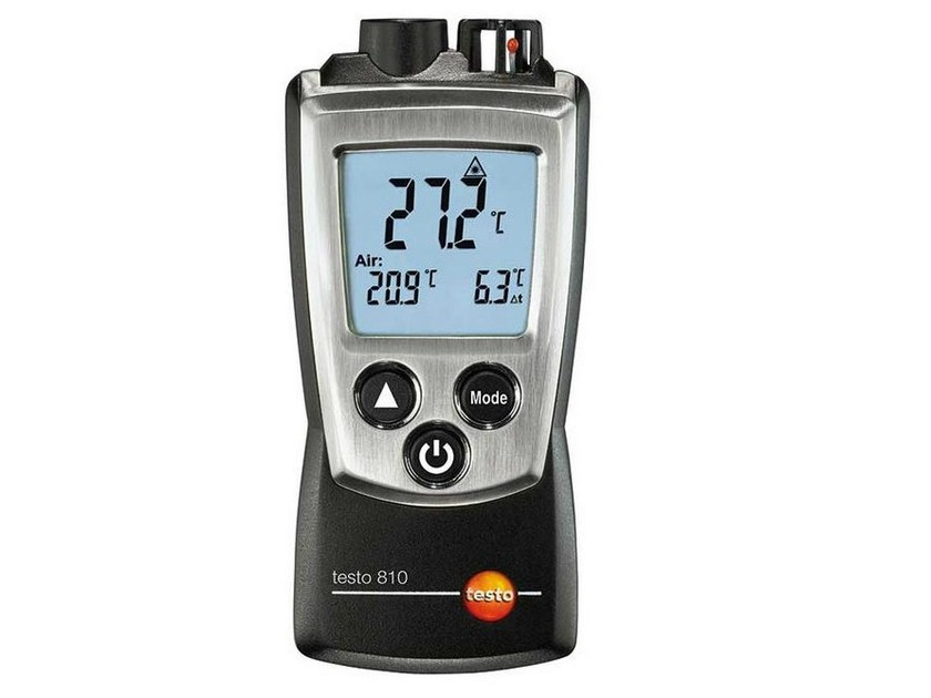 Measurement, control, thermographic and infrared instruments TESTO 810 by TESTO