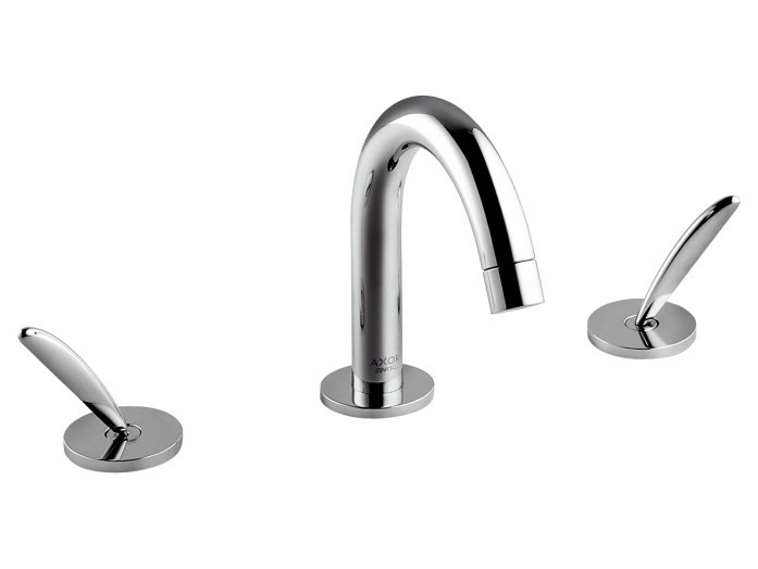 robinet pour lavabo 3 trous poser collection axor starck by hansgrohe design philippe starck. Black Bedroom Furniture Sets. Home Design Ideas
