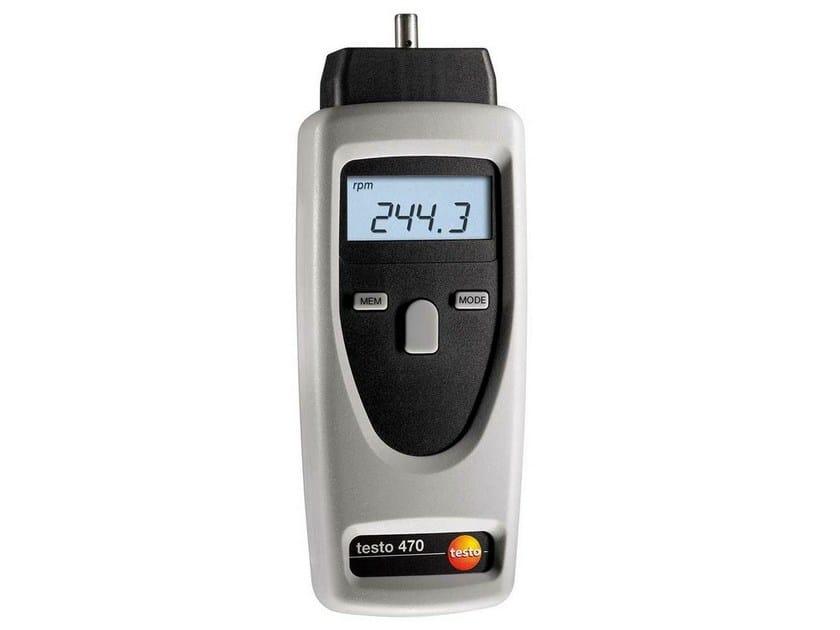 Tachimetro ottico e meccanico TESTO 470 - TESTO