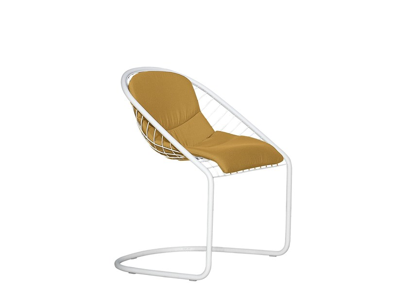 Outdoor chair CORTINA CHAIR OUTDOOR by Minotti