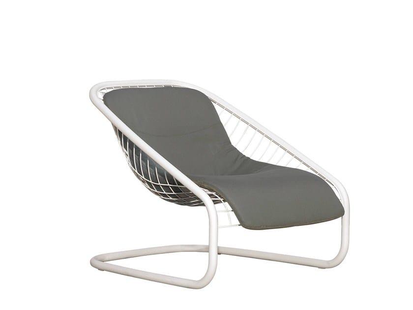 Outdoor armchair CORTINA ARMCHAIR OUTDOOR by Minotti