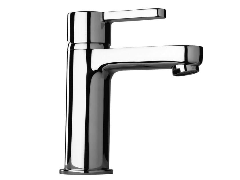 Chrome-plated 1 hole washbasin mixer CORNER | Chrome-plated washbasin mixer - Giulini G. Rubinetteria